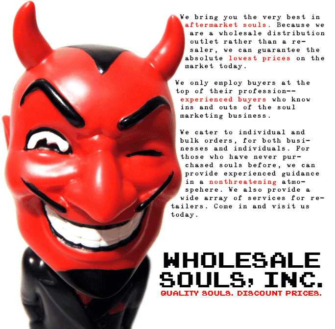 Wholesale Souls, Inc.